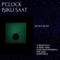 P'Clock Işıklı Saat