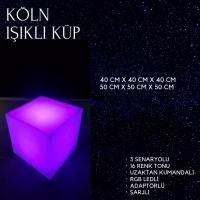 Köln Işıklı Küp
