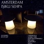 Amsterdam Işıklı Sehpa