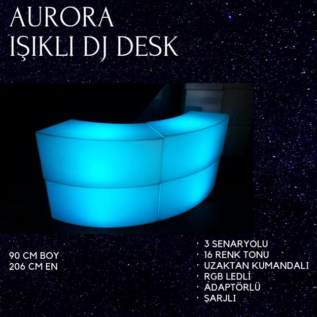 LED IŞIKLI DJ KABİNİ