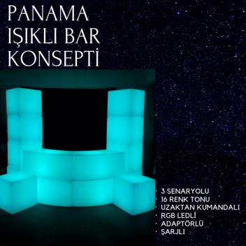 Panama Işıklı Bar Konsepti