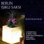 Berlin Işıklı Saksı
