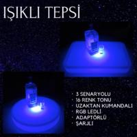 LED IŞIKLI TEPSİ