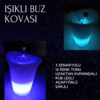 LED IŞIKLI BUZ KOVASI